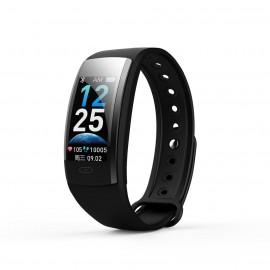 Фитнес-браслет qs90 plus с измерением давления (black)
