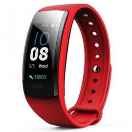 Фитнес-браслет qs90 plus с измерением давления (red)