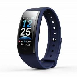 Фитнес-браслет qs90 plus с измерением давления (blue)