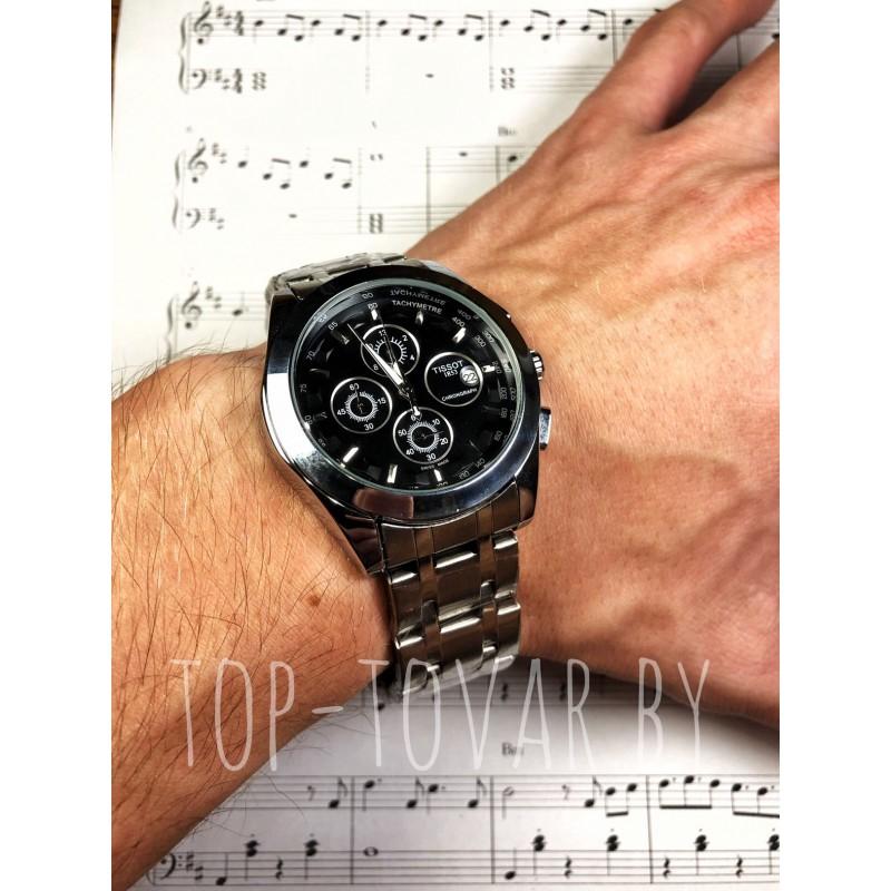 Мужские часы TISSOT T-1211 кварцевый хронограф