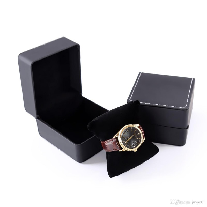 Коробочка для часов (чёрная)